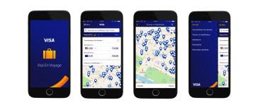 Avec son application mobile « Visa en Voyage », Visa simplifie la vie des voyageurs à l'étranger