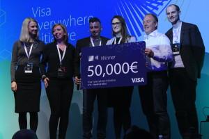 Auka vinner Visa Everywhere Initiative