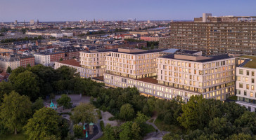 Copenhagen hospital North Wing awarded best Healthcare Design of the year