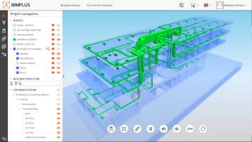 Verbesserte Zusammenarbeit in BIM-Projekten mit der openBIM-Plattform Allplan Bimplus