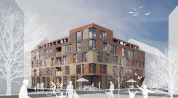 LINK arkitektur vinner markanvisning  för flerbostadshus i Trelleborg