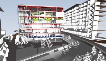 Danske arkitekter på besøg hos LINK arkitektur i Malmö