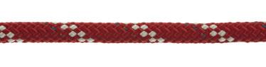 Bild med länk till högupplöst bild PolyRopes Poly-Braid-32 röd med vit kod