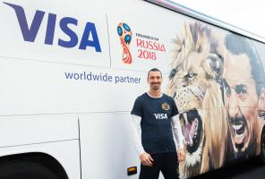 Los fans ganan con Visa en la Copa Mundial de la FIFA Rusia 2018™