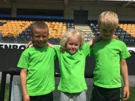 Stor idrettsglede på Sør Arena: Læringsverkstedet Presteheia barnehage arrangerte fotballturnering