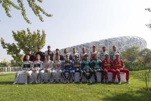 Visa Formula E competitors - Beijin