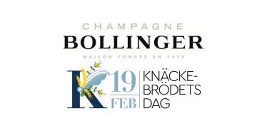 Champagne Bollinger i spännande samarbete med Knäckebrödsakademin