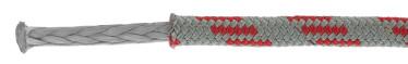Bild med länk till högupplöst bild: Skotlina ProRace Four grå med röd kod
