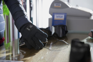 Visa payment wearable_glove