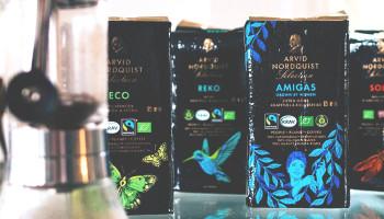 Arvid Nordquist kafferosteri störst på ekologiskt kaffe
