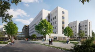 Så växer Västerås nya akutsjukhus fram