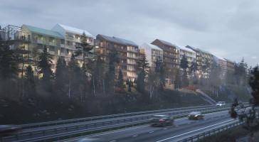LINK arkitektur + Nyhem vinner markanvisningstävling i Järfälla