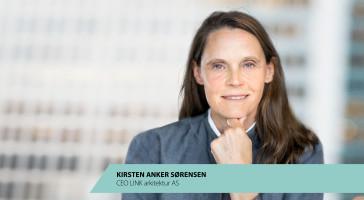 Kirsten Anker Sørensen bliver skandinavisk koncernchef i LINK arkitektur
