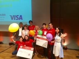 La startup App'ero, avec sa solution de commande de boissons et snacks à distance, représentera la France à la finale européenne de Junior Achievement à Helsinki