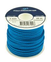Bild med länk till högupplöst bild Polyestersilkelinor - Blå spole
