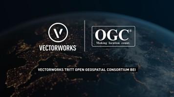 Vectorworks, Inc. tritt Open Geospatial Consortium bei zur Etablierung von GIS- und BIM-Standards
