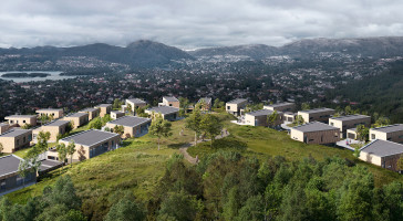 Kamp om boligene på Nøttveit