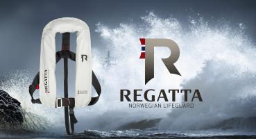 Bild med länk till högupplöst bild Regatta Aquasafe, ljusgrå med D-ring