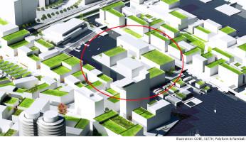 Multiconsult og LINK arkitektur er  prekvalifisert til Kronløbsøen