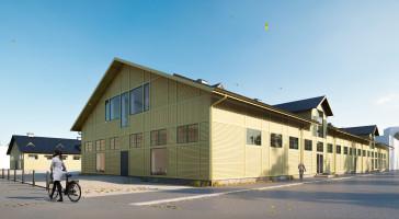 När de gamla dragonstallarna i Umeå byggs om bevaras så mycket som möjligt