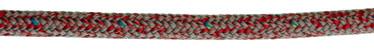 Bild med länk till högupplöst bild PolyRopes Poly-Braid-32 grå med röd kod
