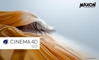 Cinema 4D S22 Now Available
