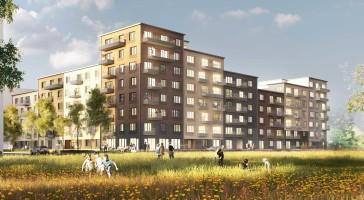 Första spadtaget för bostadssatsning i Malmö