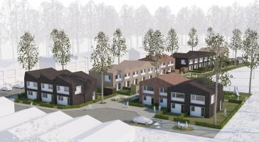Tävlingsvinst till LINK arkitektur för träradhus i Åhus
