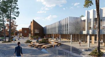 LINK designer ny videregående skole i Førde