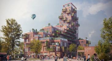 Nytt landmärke i Helsingborg signeras Fastighets AB 3Hus och LINK arkitektur
