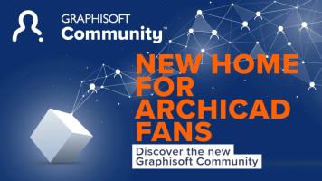 Archicad-Anwender profitieren von der neuen, modernen Graphisoft Community-Plattform