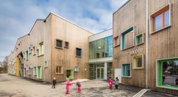 LINK arkitektur vinder  Årets skolebygg 2018