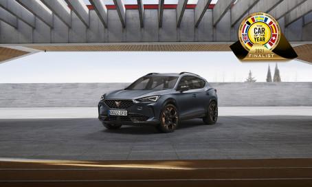 CUPRA Formentor blandt syv finalister til Årets Bil i Europa 2021