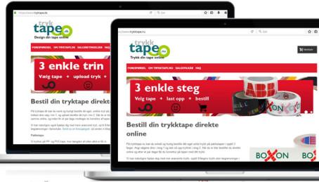 Nischad site intar den danska och norska marknaden efter succén i Sverige