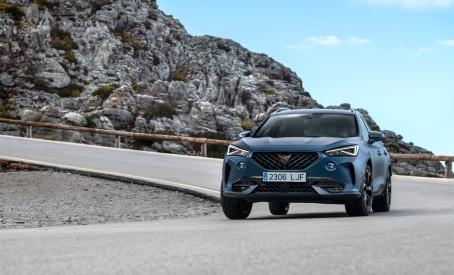 CUPRA Formentor scorer topkarakterer i Euro NCAP's sikkerhedstest