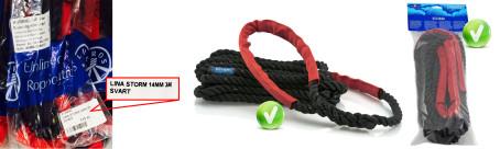 Bild med länk till pressrelease PolyRopes unika förtöjningslina STORM