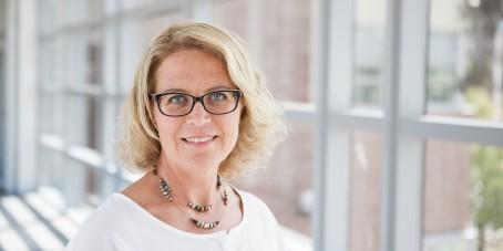 Hon är Sveriges enda vicerektor för arbetsintegrerat lärande