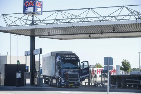 Truck Diesel til tung transport