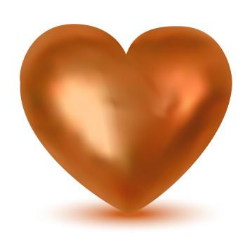 Ett hjärta av koppar