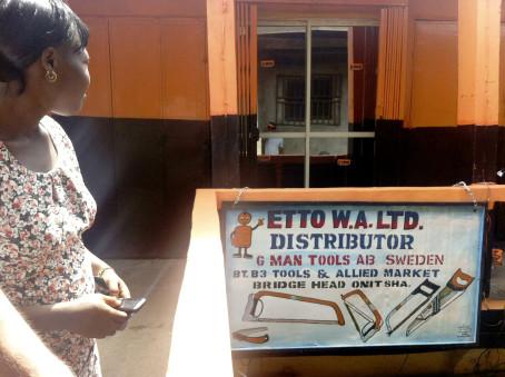Handsågar från Edsbyn till Afrika
