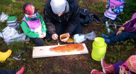 Læringsverkstedet Hammersborg barnehage finalist til årets matgledebedrift 2018!