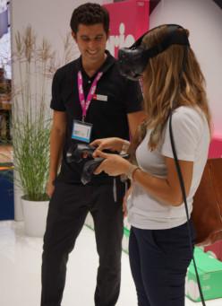 Orio visade VR på Automechanika
