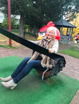 Lekende lett med fagutvikler i Læringsverkstedet, Yvonne Lindstad