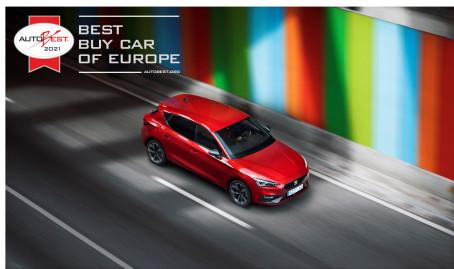 Ny SEAT Leon kåret som bedste bilkøb i Europa