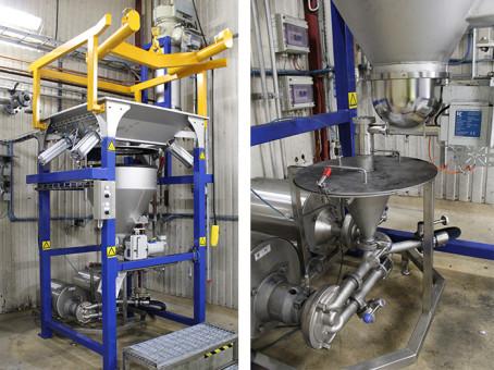 Nordic Sugar installerar inline tömning, dosering och blandning av aktivt kol