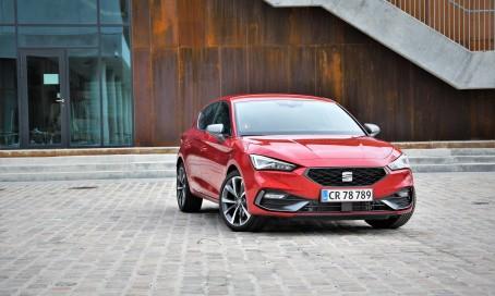 SEAT Leon opnår femstjernet rating i den nye Euro NCAP sikkerhedstest