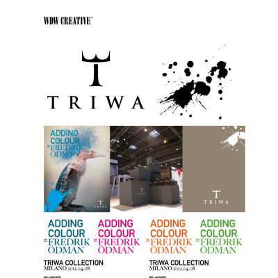 Prisade TRIWA sätter färg tillsammans med WDW Creative