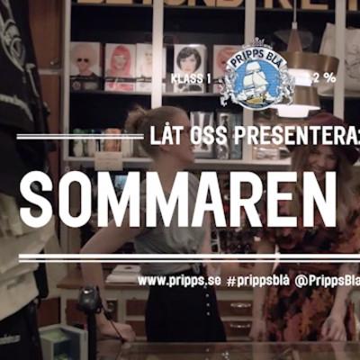 Pripps Blå presenterar sommaren 2014