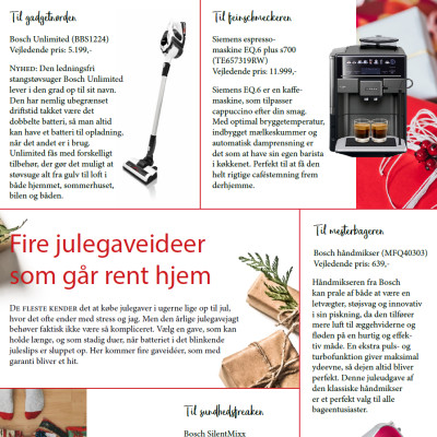 Fire julegaveideer som går rent hjem
