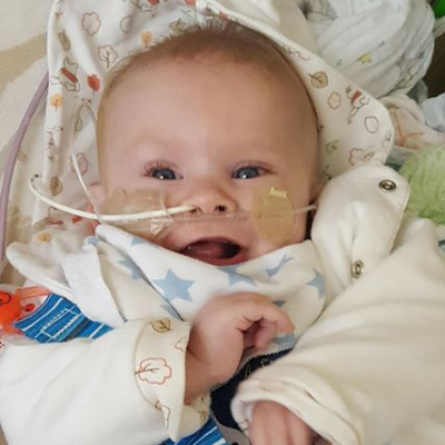 It's been a rocky few months since Finn was admitted to Sheffield Children's Hospital with lots of ups and down. I wish I could wrap my baby up in a bubble to keep him safe.